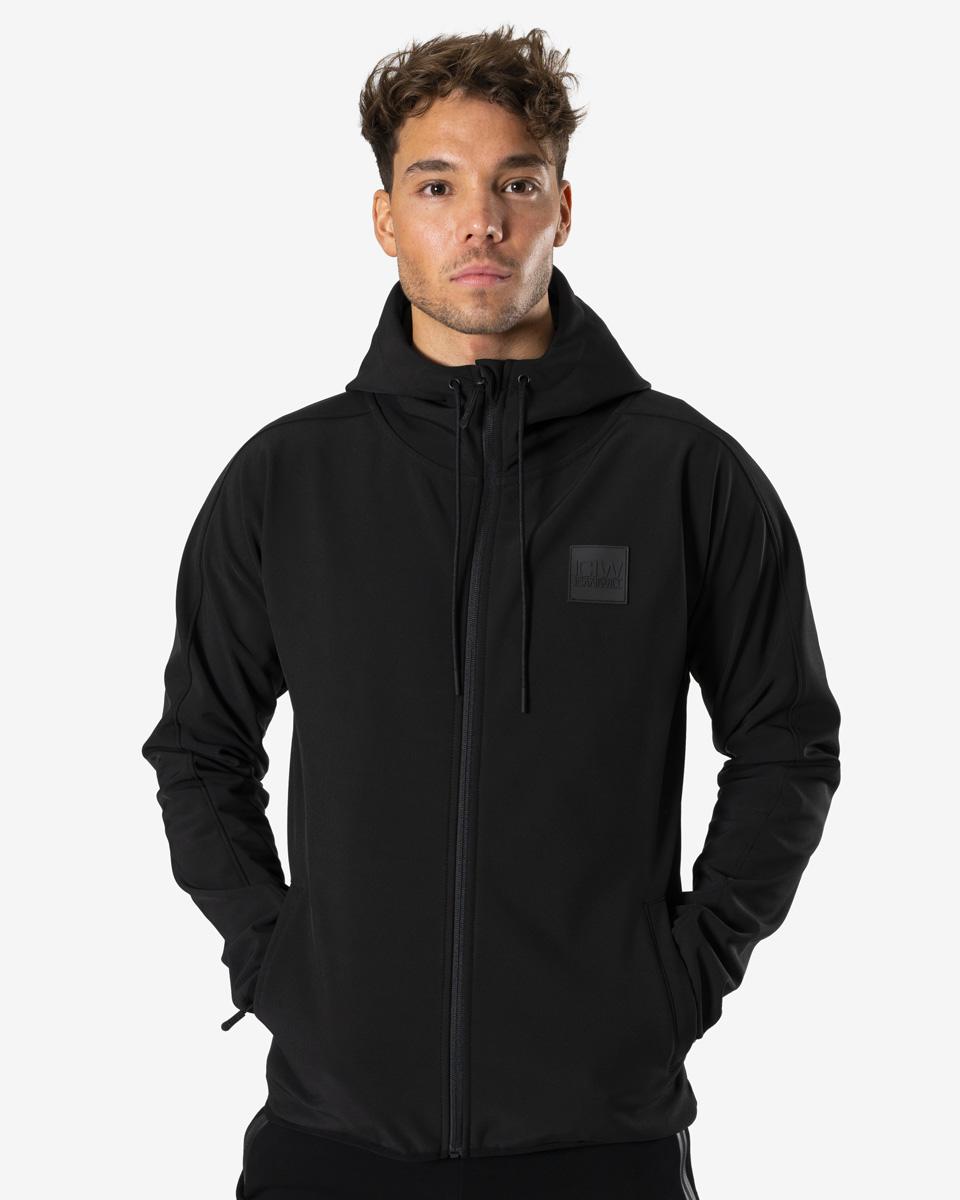 Activity Softshell Jacket Black Men   Shop online at ICANIWILL