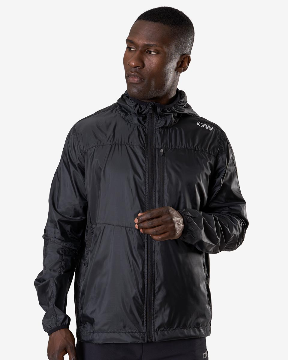 Training Wind Jacket Black Men