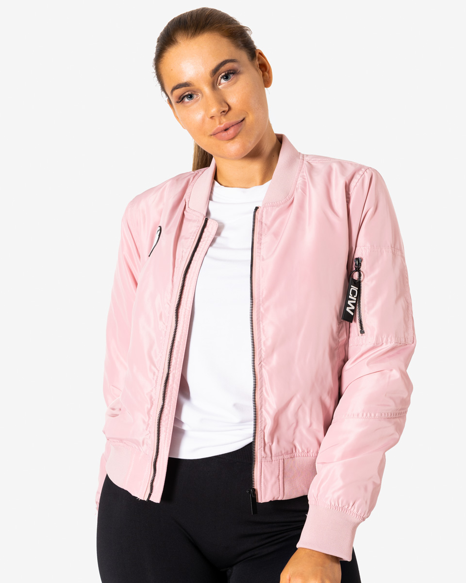 Lifestyle Bomber Jacket Dusty Pink Wmn