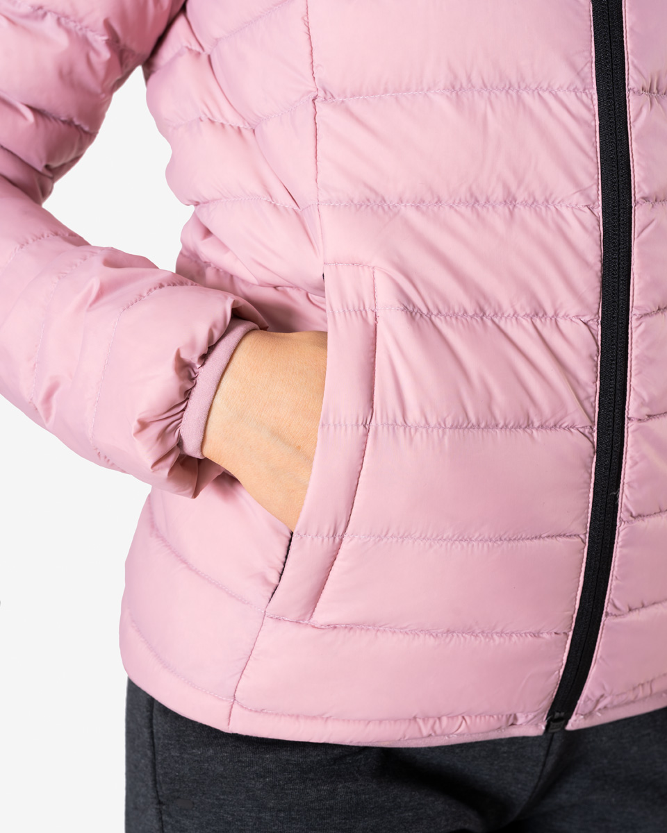 Lifestyle Down Jacket Dusty Pink Wmn | Shop online at ICANIWIL