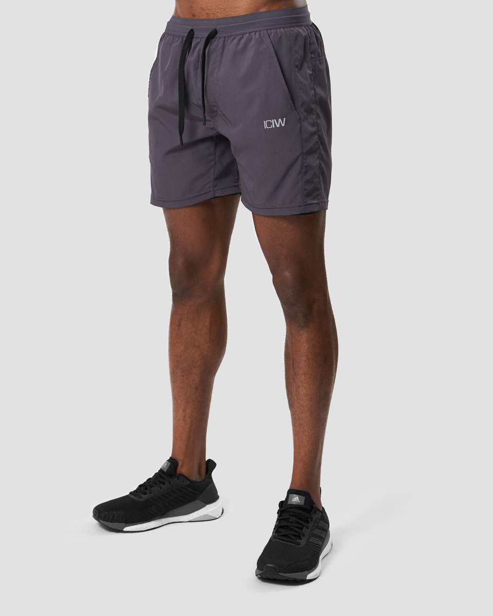 Workout 2-in-1 Shorts Graphite Men