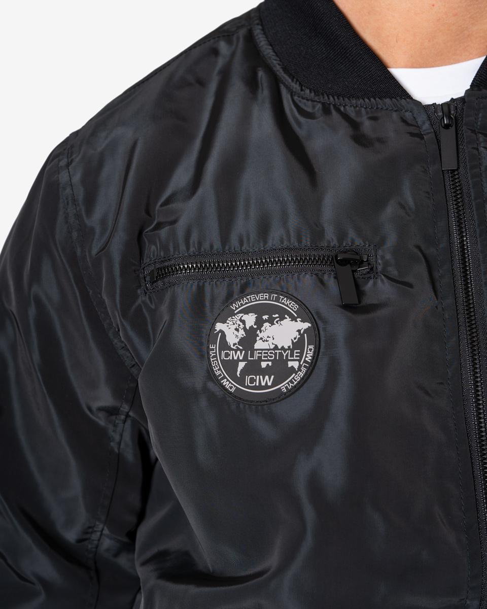 ICIW Bomber Jacket Black Man